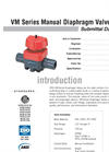 VM Manual Valves SUBMITTAL Data Sheet